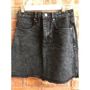 ☀️NWOT Brave Soul London Black Denim Skirt